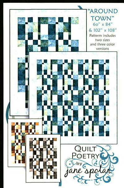 Quilt Pattern - Quilt Poetry - Around Town