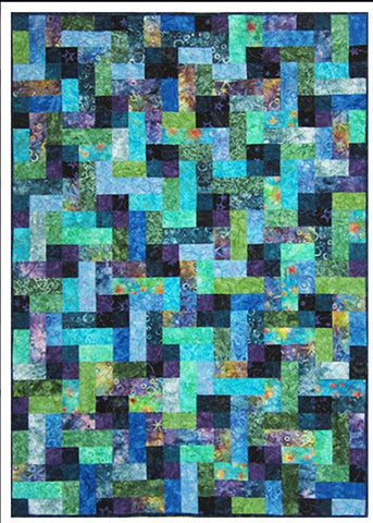 Quilt Pattern - Designs to Share with You - Rock 'N' Pop Gems