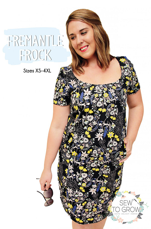 Wearables - Sew To Grow - Fremantle Frock - ON SALE - LAST ONE