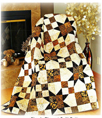 Quilt Pattern - Pleasant Valley - Simply Elegant Quilt Pattern
