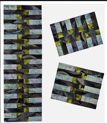 Table Runner & Placemat Pattern - Designs to Share with You - Simply Strips