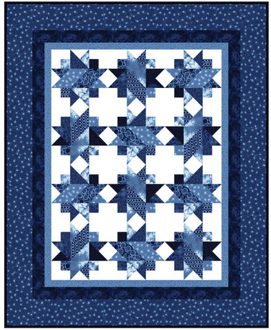 Quilt Pattern - Calico Carriage - Spinning Stars