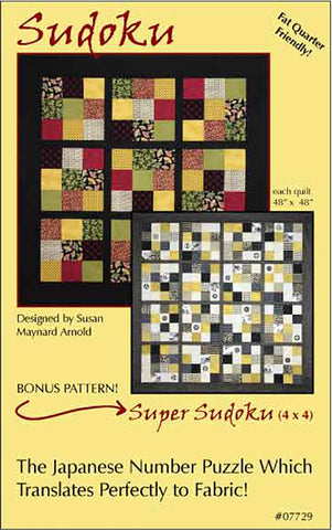 Quilt Pattern - Brookshire Design Studio - Sudoku and Super Sudoku