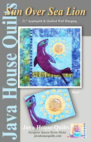 Quilt Pattern - Java House - Sun Over Sea Lion