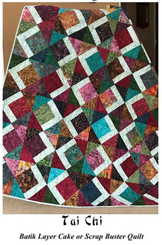 Quilt Pattern - Little Louise Designs - Tai Chi