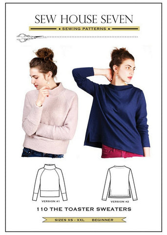 Wearables - Sew House Seven - The Toaster Sweaters