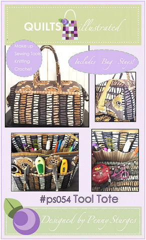 Bag & Tote Pattern - Quilts Illustrated - Tool Tote