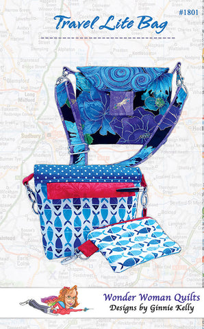 Pattern - Wonder Woman Quilts - Travel Lite Bag
