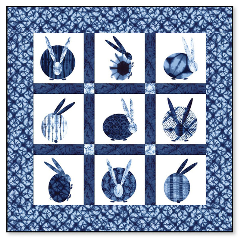 Quilt Pattern - Calico Carriage - Usagi (Rabbit)