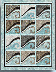 Quilt Pattern - Quilt Poetry - Waves at the Shore