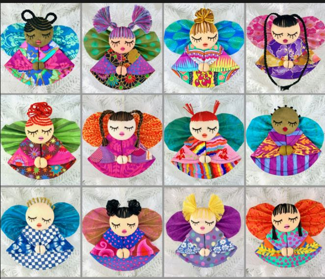 Pattern - Just for Fun - World Angel Ornaments
