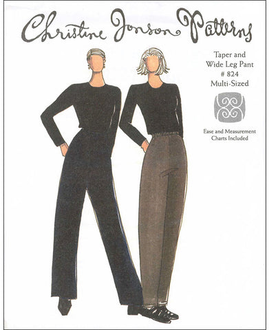 Wearables - Christine Jonson - Tapered and Wide Leg Pants