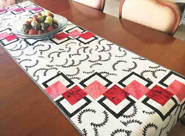Placemat and Table Runner Pattern - Maple Island Quilts - BQ Goes Mini