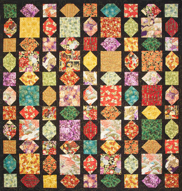 Quilt Pattern - Leesa Chandler Designs - Shanghai Lights