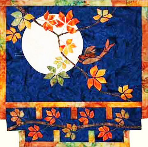Quilt Pattern - Story Quilts - Autumn Moon