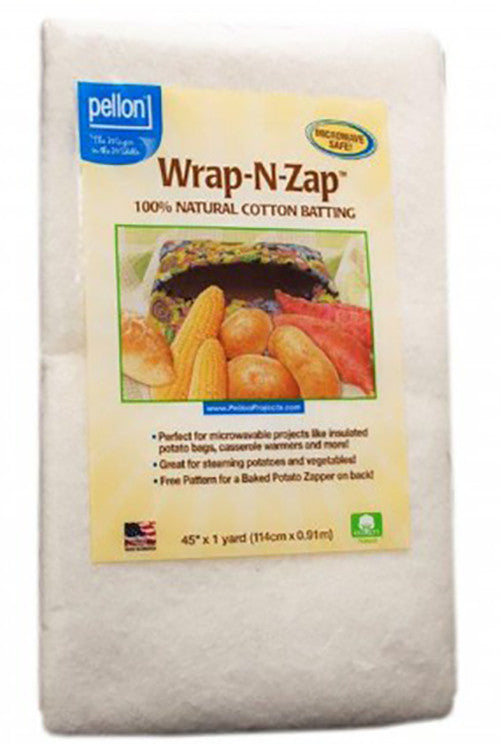 Batting - Pellon Wrap-N-Zap - Microwave Safe