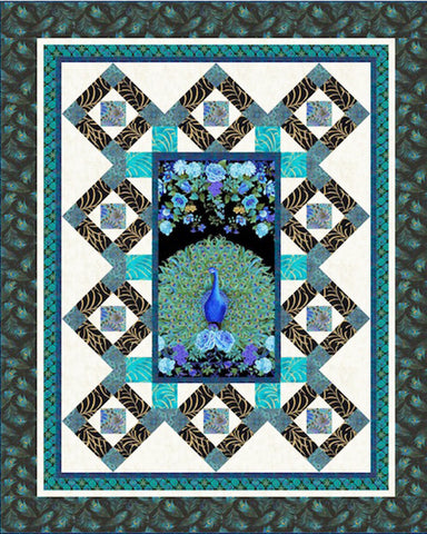Quilt Pattern - Pine Tree Country Quilts - Center Stage