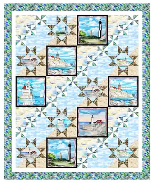Quilt Pattern - Pine Tree Country Quilts - Ocean View