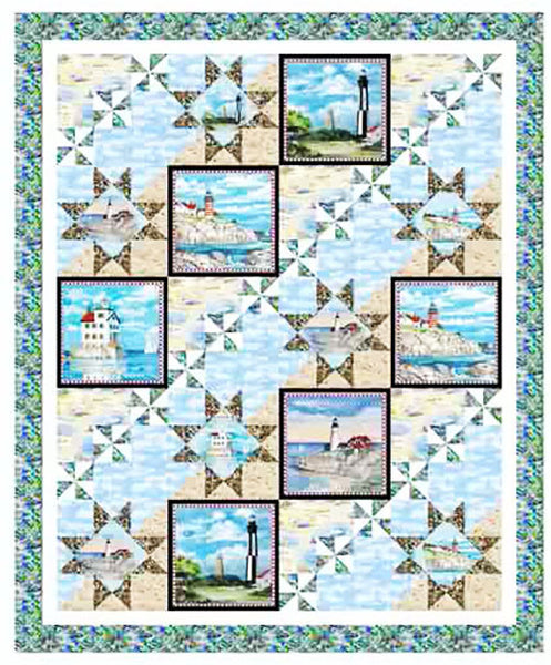 Quilt Pattern - Pine Tree Quilts - Ocean View