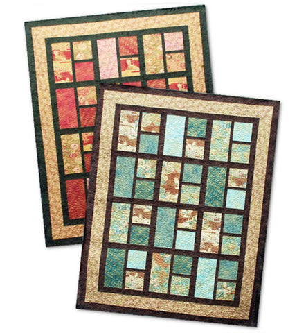 Quilt Pattern - Pine Tree Country Quilts - Oriental Elegance