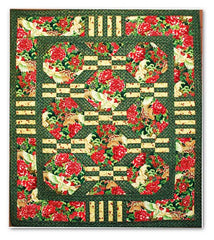 Quilt Pattern - Pine Tree Country Quilts - Oriental Garden