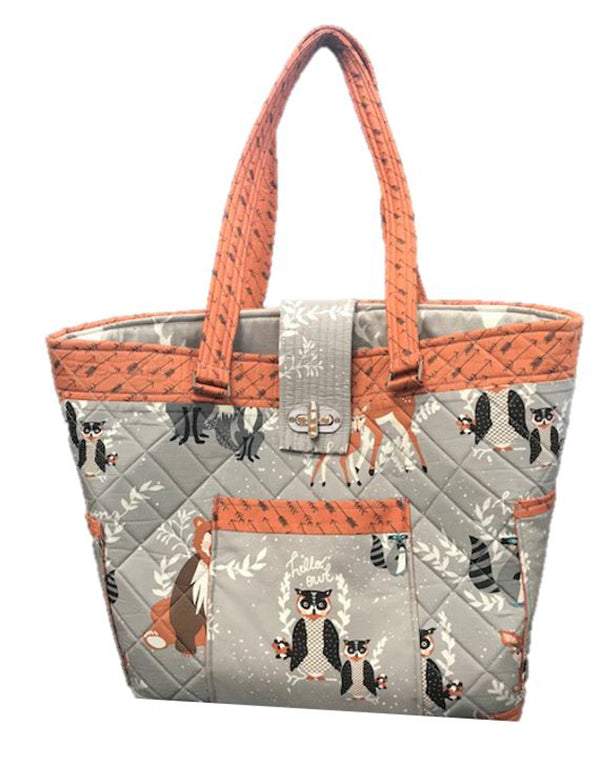 Bag Pattern - Quilts Illustrated - Pocket Parade Tote