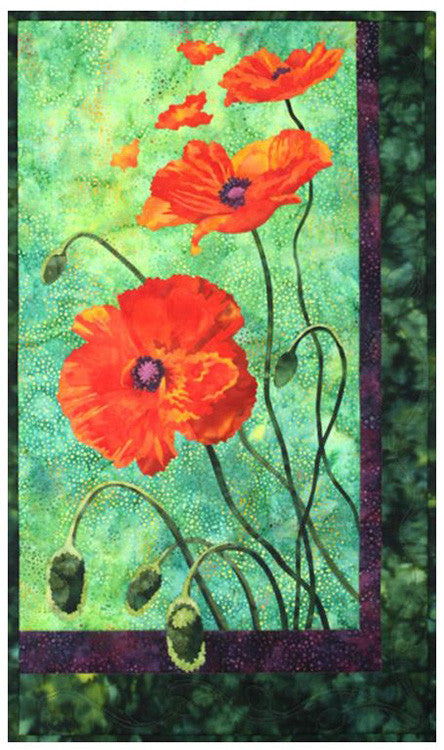 Quilt Pattern - Toni Whitney Design - Poppies