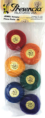 Presencia Perle Cotton Sampler Pack - JEWEL - Size 8