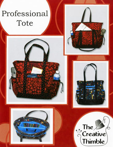 Bag Pattern - The Creative Thimble - Professional Tote