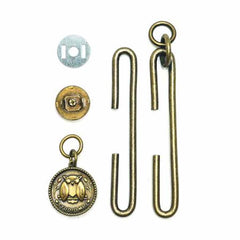 Bag & Purse Hardware - Slide Clasp with Magnetic Snap