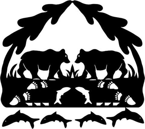 Quilt Pattern & Laser Cut Applique - Silhouette of Alaska Bears # 11051