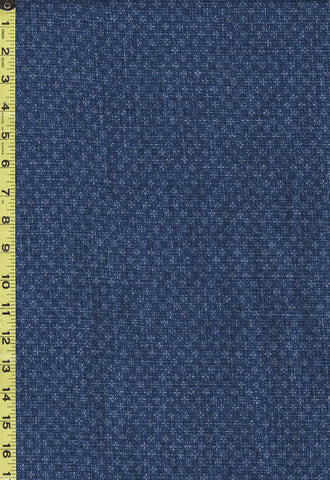 *Japanese - Sevenberry Nara Homespun - Tonal Honeycomb - SB-850327D3-2 - Blue