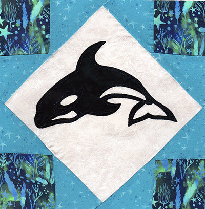 *SHOP HOP 2019 - ORCA BLOCK KIT
