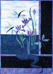 Quilt Pattern - Story Quilts - Dragonflies & Iris
