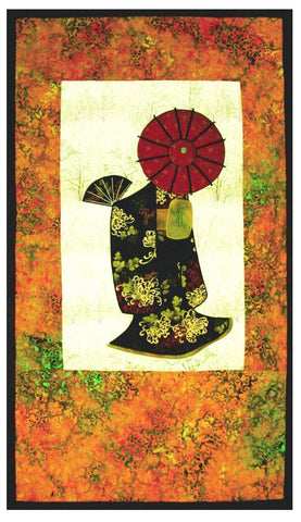 Quilt Pattern - Story Quilts - Japanese Lady