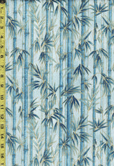 Asian - Imperial 16 - Bamboo Forest - SRKM-19509-4 -  BLUE