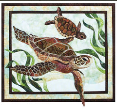 Quilt Pattern - Toni Whitney Design - Sea Turtles