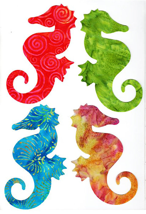 Fabric Fun Shapes - Sea Life - Seahorse