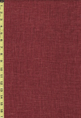 Japanese - Sevenberry Nara Homespun - Solid - SB-88500D1-3 - Brick Red