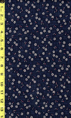 *Japanese Sevenberry - Kasuri Collection - Tiny Floating Cherry Blossoms - 88227D2 - Indigo
