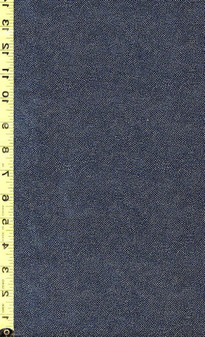 *Japanese Sevenberry - Kasuri Collection - Micro Pindots - 88220D8-5 - Dark Navy