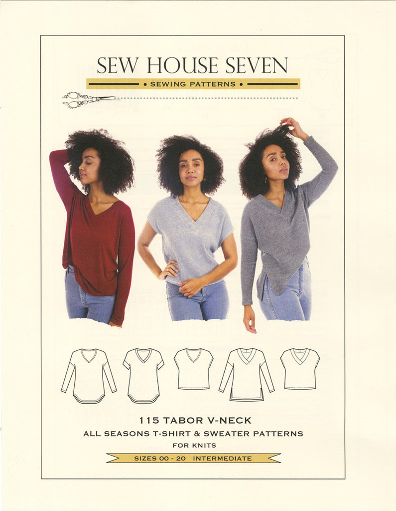 Wearables - Sew House Seven - Tabor V Neck