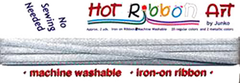 Hot Ribbon - Silver Metallic # 22