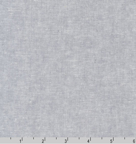 Solid - Essex Cotton-Linen Yarn-Dyed - Steel Gray