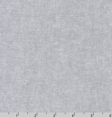 Sashiko Fabric - Cotton-Linen - Steel Grey