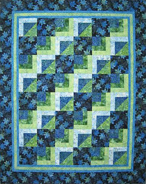 Quilt Pattern - Plum Tree Quilts - Stepping Stones