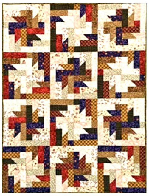 Quilt Pattern - GE Designs - Strip Joints