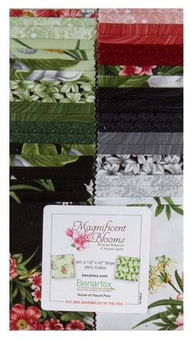 Florals - Magnificent Blooms - Pre-Cut 2 1/2