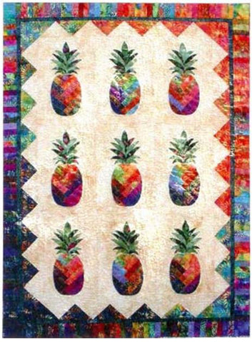 Quilt Pattern - Sunshine Pineapple