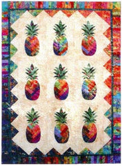 Quilt Pattern - Quilting Time - Sunshine Pineapple